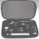 Gurin GD-210ENT Professional Otoscope / Ophthalmoscope  E.N.T. Diagnostic Instrument Set with Zippered Leather case