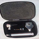 Gurin GD-OPOT-110 Professional Otoscope / Ophthalmoscope Diagnostic Instrument Set with Zippered Leather case