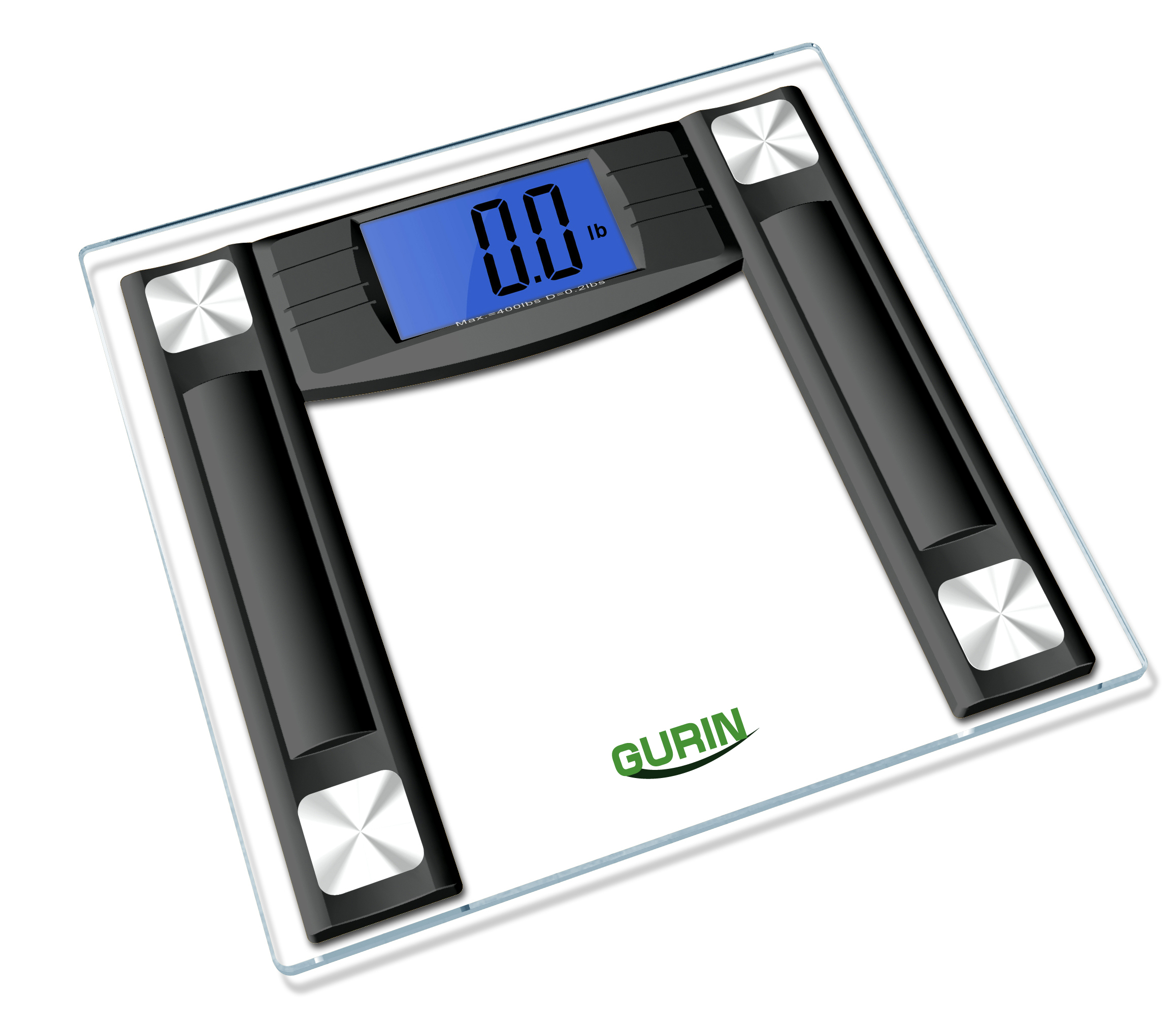 Most Accurate Bathroom Scale 2014: Gurin ACS-100 High Accuracy Digital Bathroom Scale