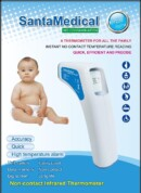 Santamedical RY-220 Professional Clinical Large LCD Non-Contact Infrared Thermometer – Forehead & Surface