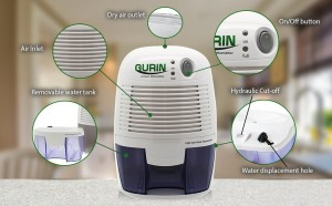 Thermo-Electric Dehumidifier