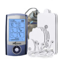 MEDVICE Rechargeable FDA Cleared Tens Unit with 16 Modes and 8 Pads